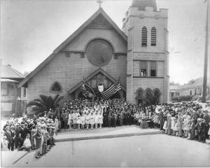 Circa early 1900s. Image via church's Facebook page